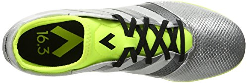 Adidas Performance As 16,3 Primesh cubierta de zapatos de fútbol, â??â??choque Verde / shock rosa / Silver Metallic/Black/Electricity