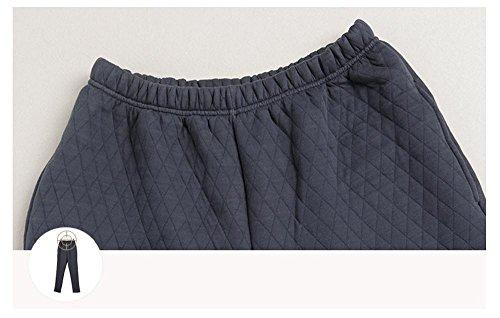 Manica lunga cotone pigiama vestaglia inverno nightwear da ultimo uomo che può essere indossato all'aperto
