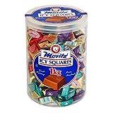 Mortiz ICY Chocolate Squares 90 Units, 1 Kilogram