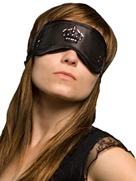 Daydream Noir S-4001 Crystal Black Masque de Sommeil avec Poche Rafra/îchissante