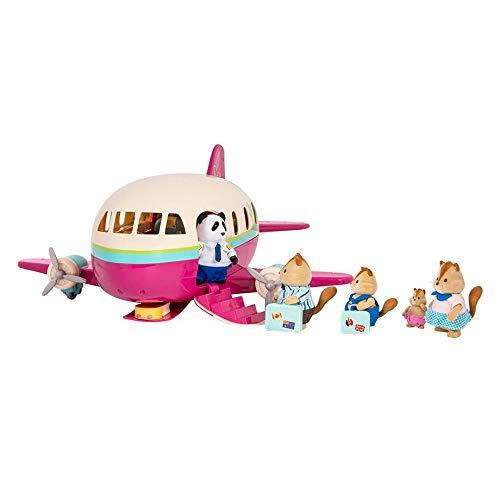 Honeysuckle Airway 16 Pieces Branford Limited Lil Woodzeez Animal Figurine Playset and Accessories