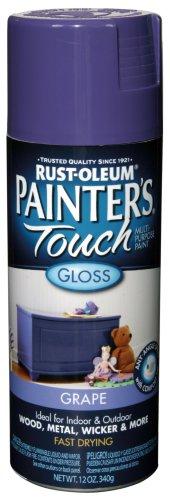 Rust-Oleum 1949830 Painter's Touch Spray, Gloss Grape, 12-Ounce