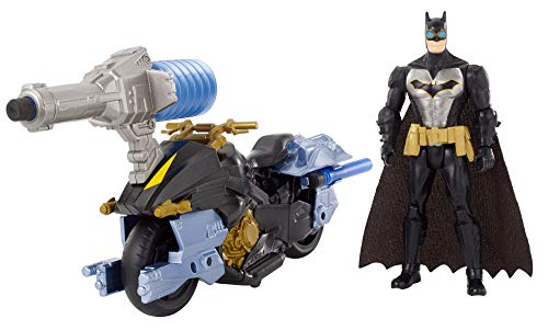 Batman Missions Air Power Blast Attack Batman & Batcycle