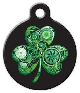amazon com lean green irish machine custom pet id tag for dogs