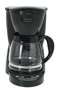 Black & Decker DCM2500B SmartBrew Coffeemaker, White
