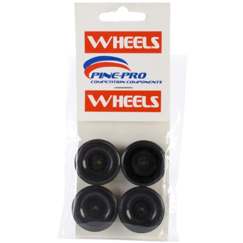 Wheels Derby Car (Pinepro Car Derby Wheels, 4-Pack)
