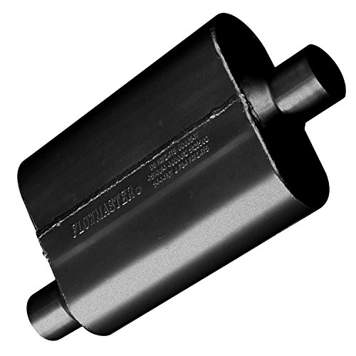 Flowmaster 42441 40 Series Muffler - 2.25 Offset IN / 2.25 Center OUT - Aggressive Sound ()