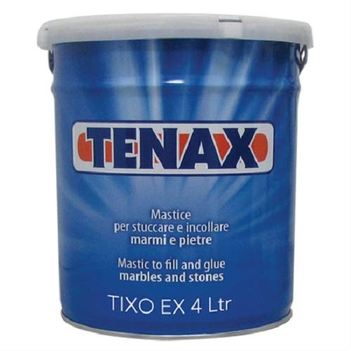 Tenax Tixo EX Knife Grade Transparent - 4 Liter. for Granite, Marble, Engineered Stone, Quartz, Quartzite, Stone by Tenax USA (Image #3)