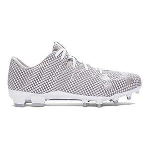 Under Armour Men's UA Nitro Low MC White/Metallic Silver Sneaker 8 D (M)