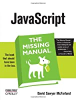 JavaScript: The Missing Manual Front Cover