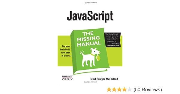 javascript the missing manual david sawyer mcfarland rh amazon com Manual Review Clip Art Manual Review Clip Art