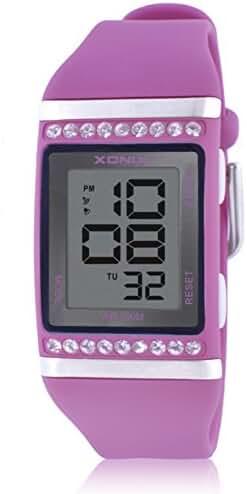 LEDSports waterproof watch/Boys children multifunctional diamond watch-G