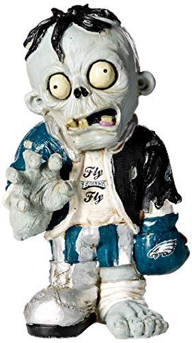 Forever Collectibles NFL Philadelphia Eagles Unisex Zombie Figurine, Team Color, One Size (Gnome Philadelphia Garden Eagles)