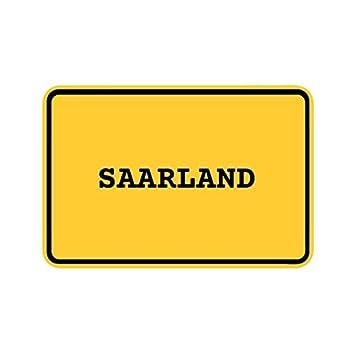 Farbe Saarland Design JOllify Aufkleber Herz