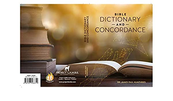 Bible Dictionary and Concordance (English Edition) eBook: Dr ...