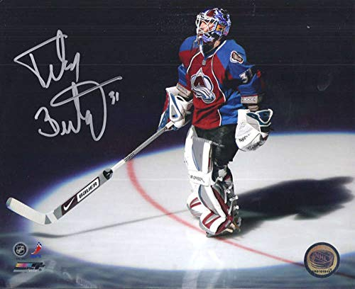 Peter Budaj Autographed/Signed Colorado Avalanche 8x10 Photo