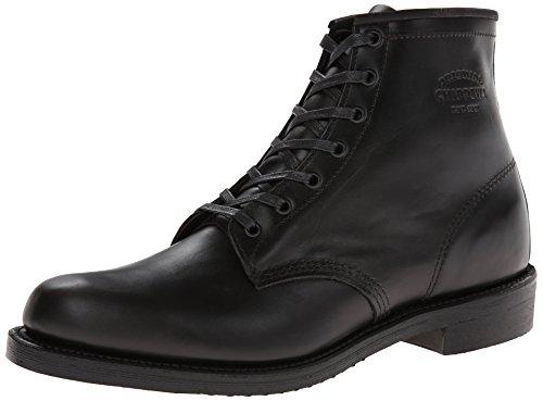 Original Chippewa Collection Men's 1901M82 6 Inch Service Utility Boot, Trooper Black, 9.5 D US by Original Chippewa Collection