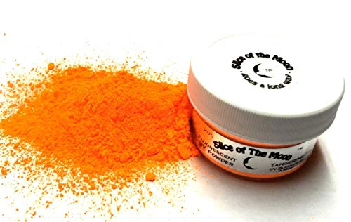 Slice of the Moon: Neon UV Fluorescent Powder 20g, Safe Non-Toxic for Slime, Nails, Epoxy Resin, Fine Art and DIY Crafts