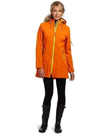 ILSE JACOBSEN Women's Rain 7b Soft Shell Jacket, Orange, 36