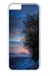 Frosty Sunset PC For Ipod Touch 4 Phone Case Cover White