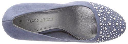 Marco Tozzi azure Donna Scarpe Blu 22423 Con Tacco pgnPwxpdAv