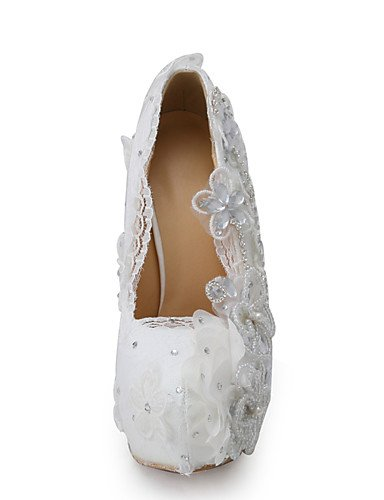 5 ZQ 5 y Blanco Tacones uk6 cn40 over cn40 over 5in 5in eu39 Boda boda Fiesta eu39 amp; Zapatos Mujer Noche 5in us8 5 Vestido amp; cn34 uk3 Tacones de eu35 us5 us8 5 uk6 amp; over rx8rv4