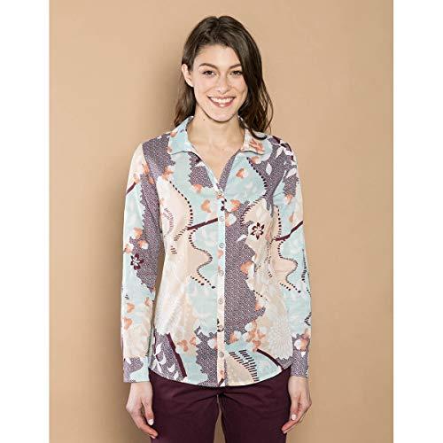 Camicia Céladon Mekong La Donna Fiancee Bleu Du qtYwRFa