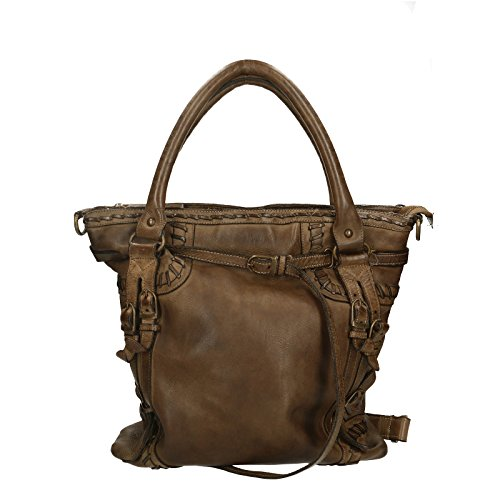 Luxury Donna Chicca in Shoulder da 33x37x10 Genuine Cm Vera Spalla a 100 Edition Pelle Vintage Bag Borse Borsa Leather 55gvxR1