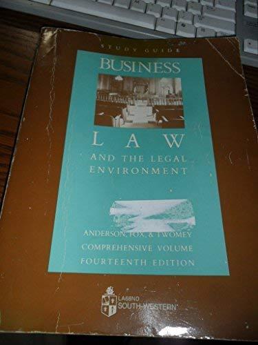 Business Law Comprehensive - Study Guide (La-Business Law)