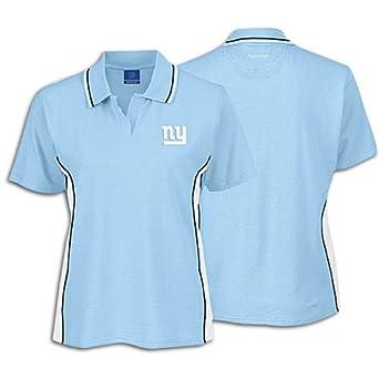 Reebok Giants NFL deportivo Polo de la mujer, Medium, Sky Blue ...