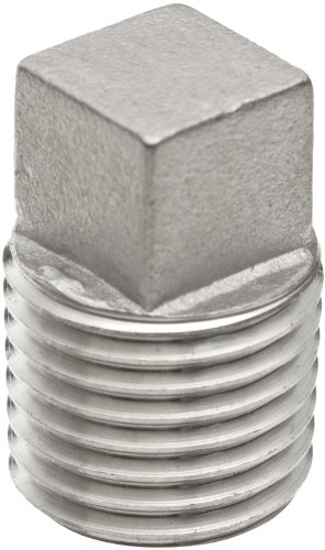 Stainless Steel Fitting Square Solid