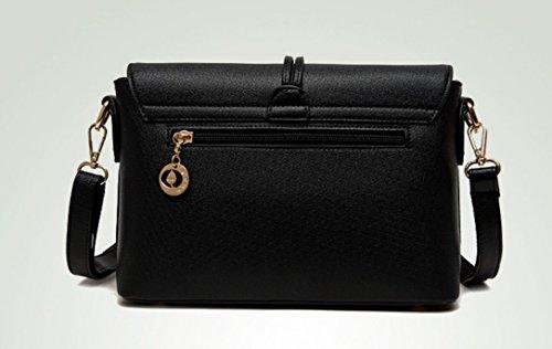 Sacs De Carré Diagonale Mode Black Épaule Petit Sac À Noir Unique Nouvelle Main Meaeo qdgSCq