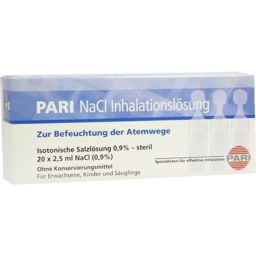PARI NaCl Inhalationsloesung Amp., 20X2.5 ml