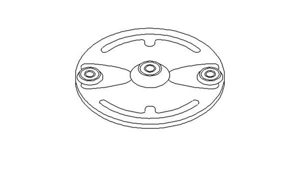 John Deere Disk Mower 240, 260 Disc Part No: A-DC19535
