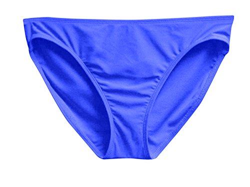 Barrow Island (Island Escape Women's Shaper Pant Bikini Bottom, Blue, 8)