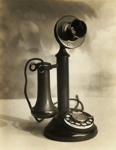Candlestick Phone (Candlestick Telephone Wall Mural by Wallmonkeys Peel and Stick Graphic (24 in H x 19 in W) WM287089)