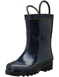 Kids Unisex Solid Waterproof Rain Boot