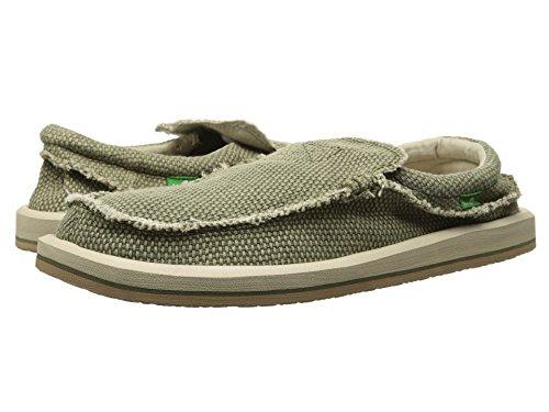 Sanuk Homme Chiba Grande Et Grande Chaussure À Enfiler Olive