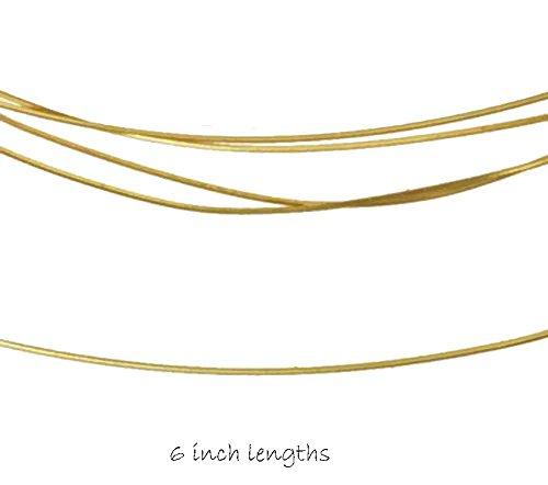14kt Gold Jewelry Wire Soft 26 Gauge 14k Bulk (Qty=6