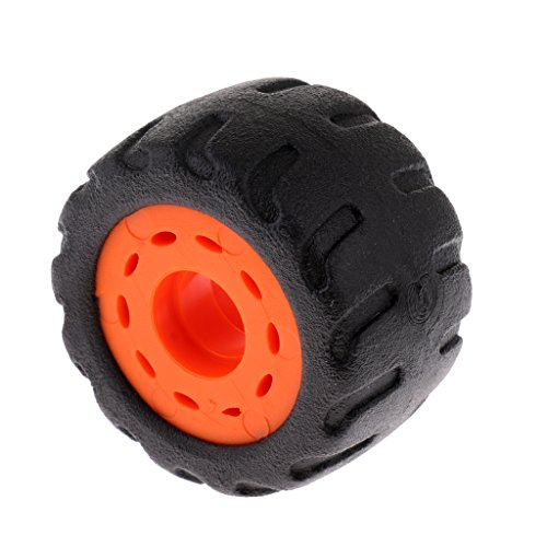 Dovewill Professional Longboard PU Rubber Wheel Replacement, 70mm, 75A