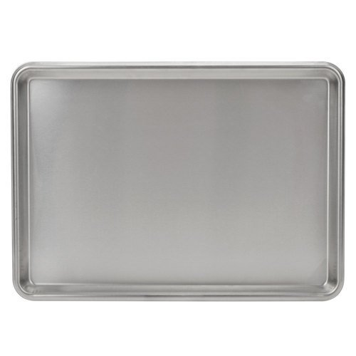 (Focus Foodservice 901318SS Half Size Heavy Duty Stainless Steel Sheet Pan, 13