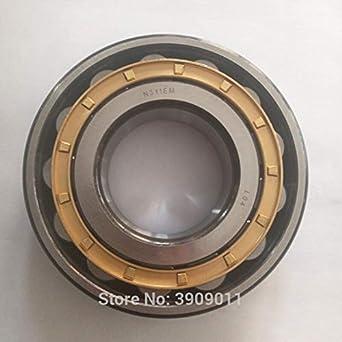 Color: N2220EM Fevas SHLNZB Bearing 1Pcs N2220 N2220E N2220M N2220EM N2220ECM C3 10018046mm Brass Cage Cylindrical Roller Bearings