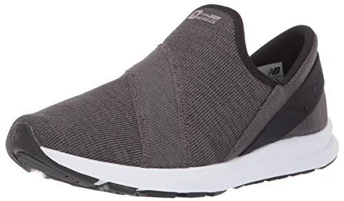 New Balance Women's FuelCore Nergize Slip-On V1 Sneaker, Black/Magnet, 6.5 B US