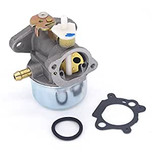 Atoparts Carburetor for Briggs & Stratton 497586 499059 Lawnmower Gasket & Choke Carb NEW