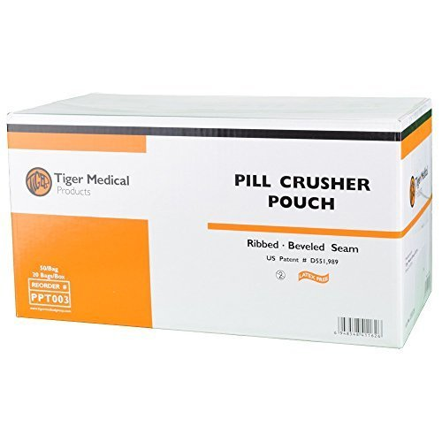 Tiger Pill Crusher Pouches by Tiger Medical Products by Tiger Medical
