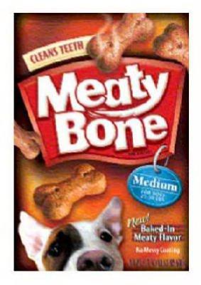 - Meaty Bone Jm Smucker Retail Sales 00079100520671 Dog Biscuit, Medium, 64-oz. - Quantity 4