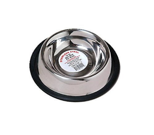 Pyara Paws Pyara Paws Stainless Steel Anti-Skid Pet Bowl
