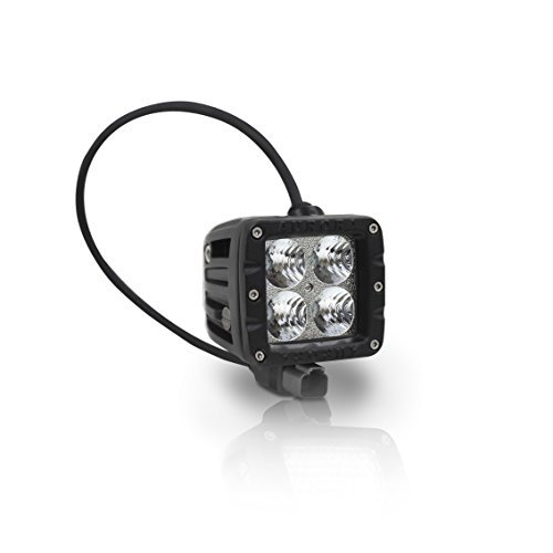 "Aurora LED 2"" Cube Working Light. 4 X 10W Cree White LED Chips For 40W Total. Flood Beam At 585M, 3200Lm At ()"