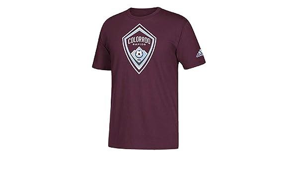 adidas Colorado Rapids - Camiseta para Hombre con Logo del Equipo ...