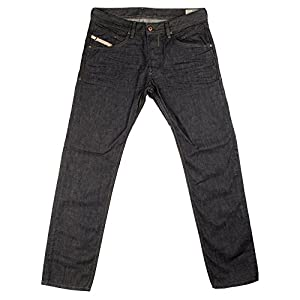 Diesel Men's 0088Z Regular Slim Tapered Belther Jeans